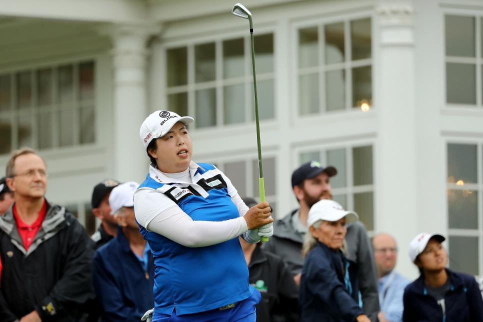Shanshan Feng U.S. Women's Open - Round Two