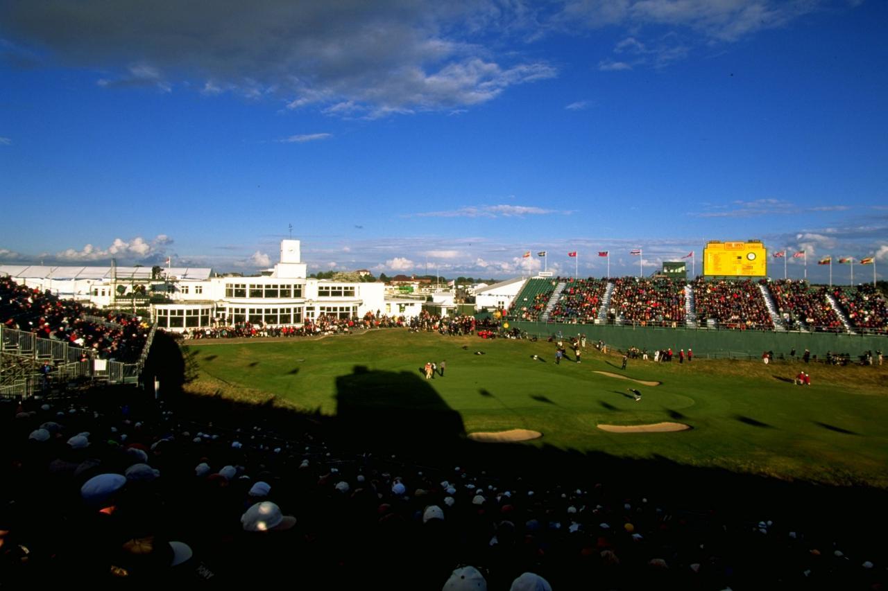 british open tee times  final round