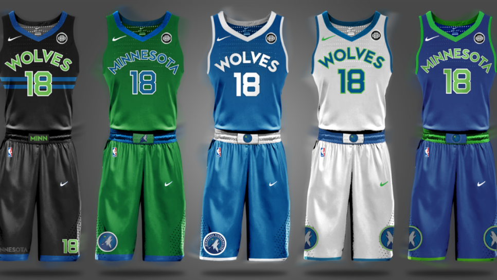 Behold And Marvel At These Fan Designed Nba Jersey Concepts This Is The Loop Golf Digest
