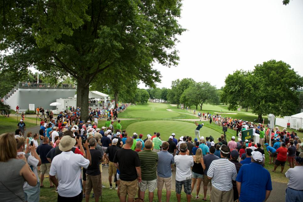 GOLF: JUL 03 PGA - World Golf Championships - Bridgestone Invitational - Final Round