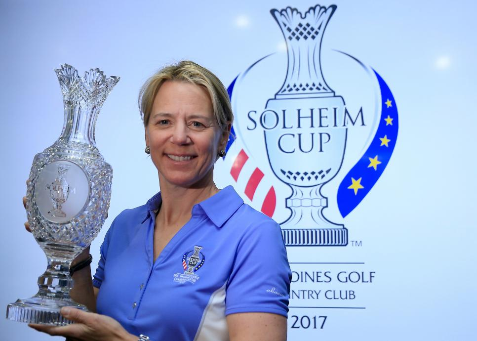 Annika Sorenstam Announced As 2017 European Solheim Cup Captain
