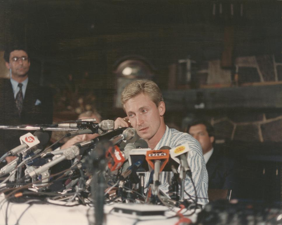 Wayne Gretzky Traded To Los Angeles