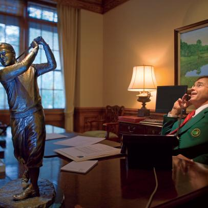 After Bringing The Olympics To Atlanta, Billy Payne Takes The Lead At Augusta National