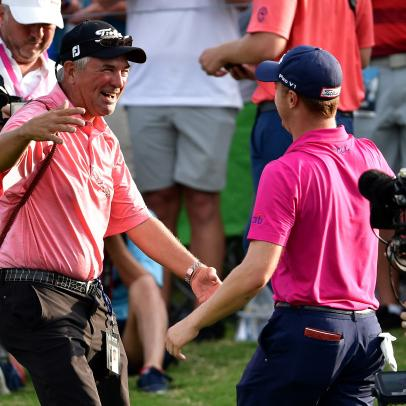 The Thomas Family comes down from PGA high, Butch Harmon puts on a new hat, and tributes to Phil Ritson