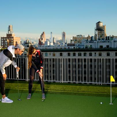 Rooftop Putting: The Perfect Getaway From City Life