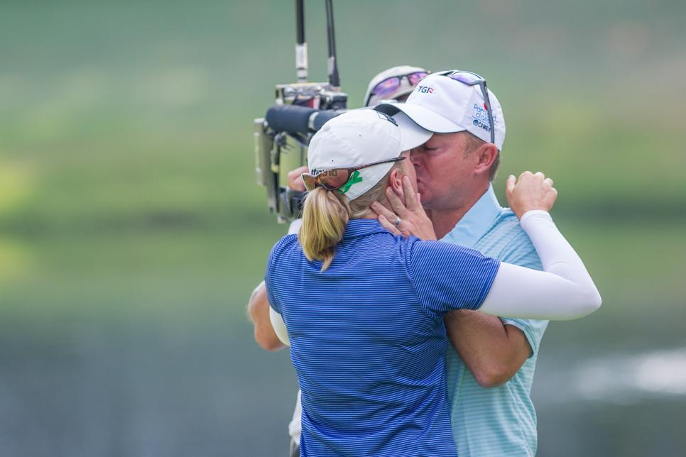 GOLF: SEP 03 LPGA - Cambia Portland Classic - Final Round