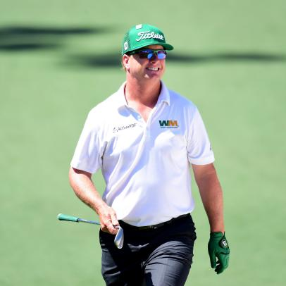 In the Presidents Cup, Charley Hoffman joins the team he's waited his whole life to be a part of
