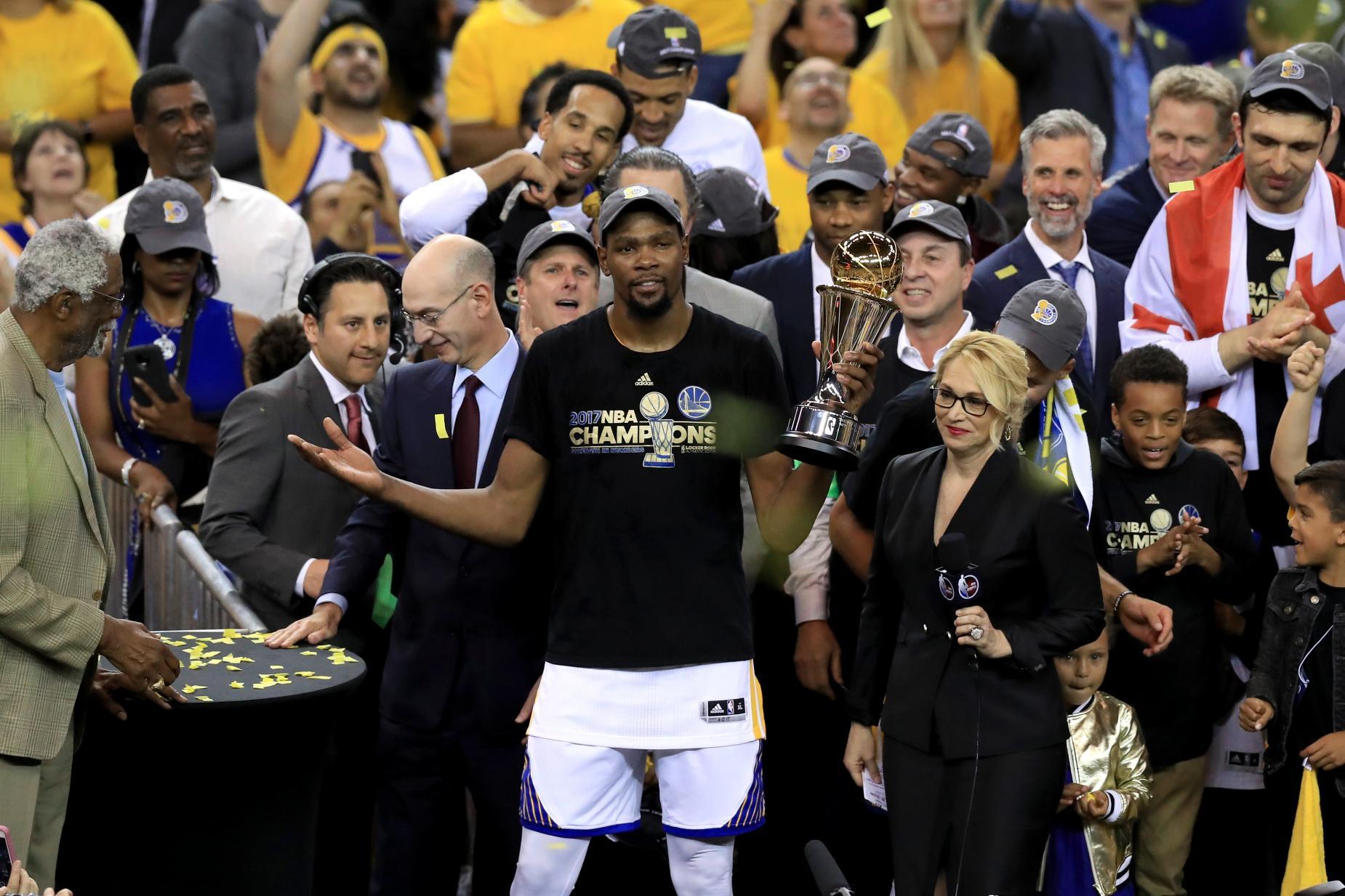 Kevin Durant accidentally bashes Oklahoma City Thunder ...