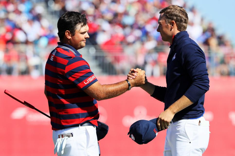 2016 Ryder Cup - Morning Foursome Matches