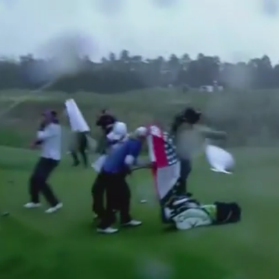 "Belen Mozo voices displeasure of playing in dangerous conditions, says LPGA players are ""like sheeps"" in crazy video"