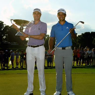 Justin Thomas, Xander Schauffele and the real secret to how anyone can keep up with the big boys