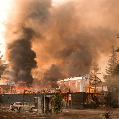 Destruction from Napa-area fire hits close to home at Silverado Resort