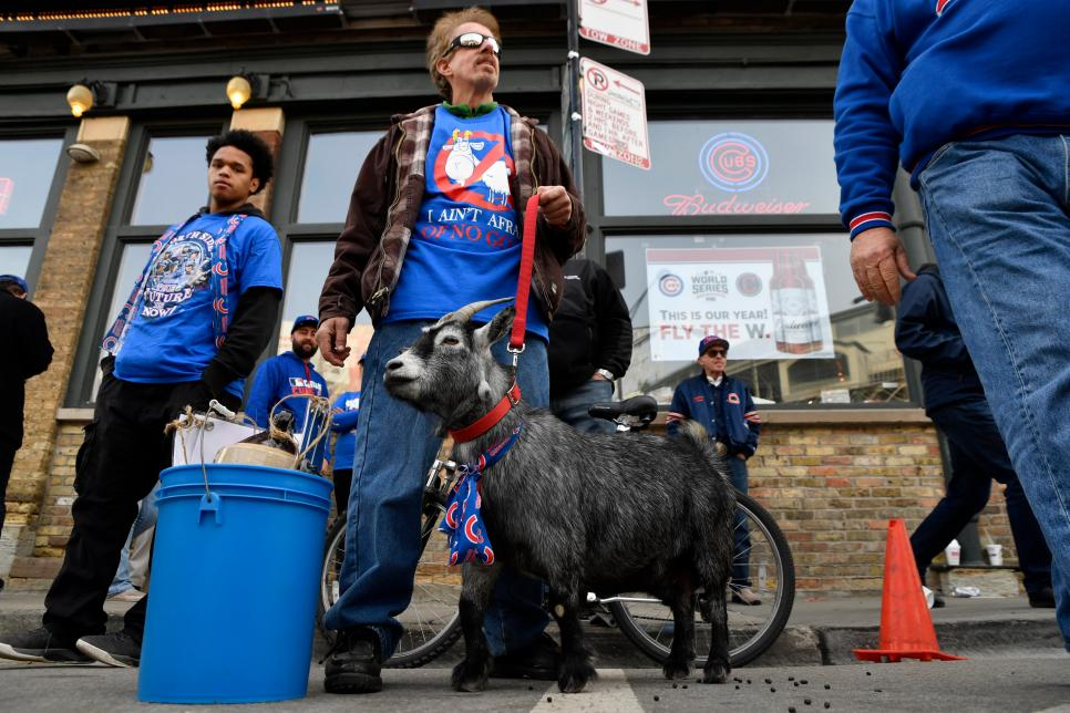 MLB: OCT 28 World Series - Game 3 - Indians at Cubs