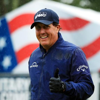 A quarter of a million dollars to play a round of golf with Phil Mickelson?! The option is yours now