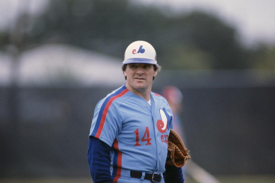 Pete Rose Montreal Expos