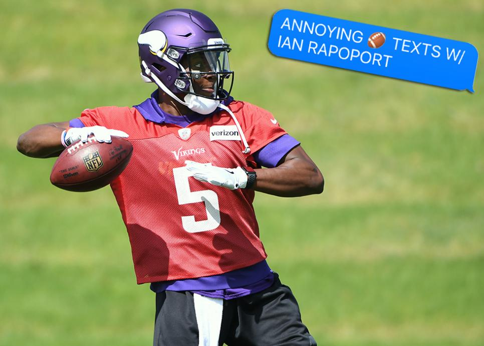 NFL: JUN 14 Vikings Minicamp