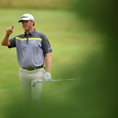 Grounded at home on St. Simons Island, Patton Kizzire's career comes into focus
