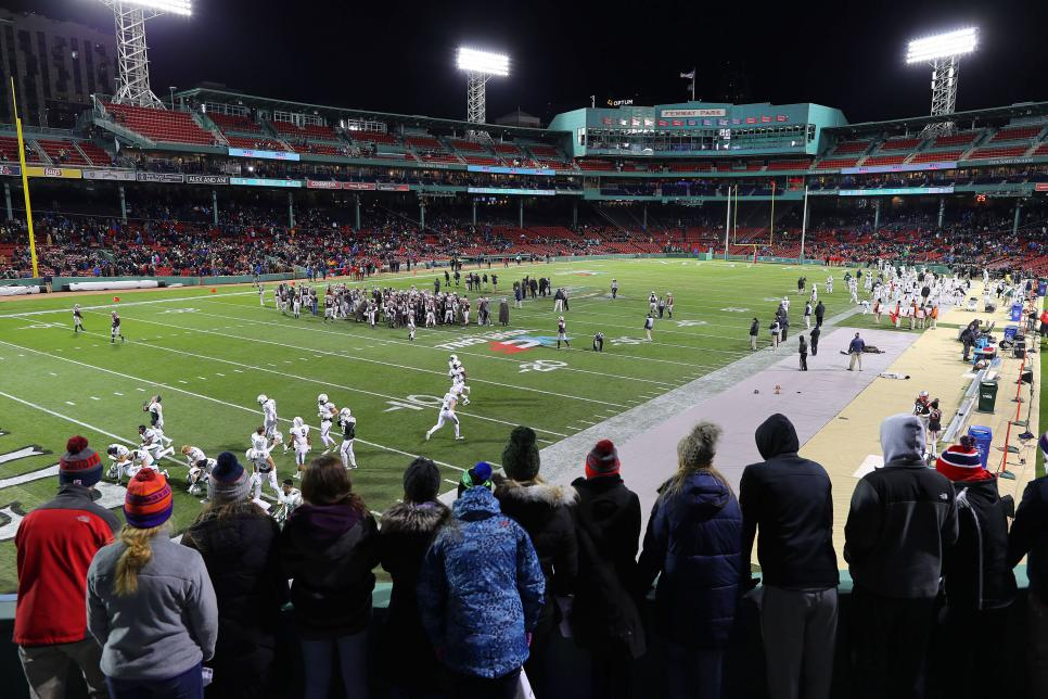 Dartmouth College Vs Brown University At Fenway Park