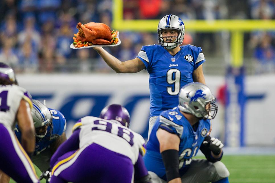 Matthew Stafford Turkey