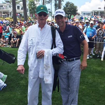 In their last days together, Webb Simpson keeps learning from his father