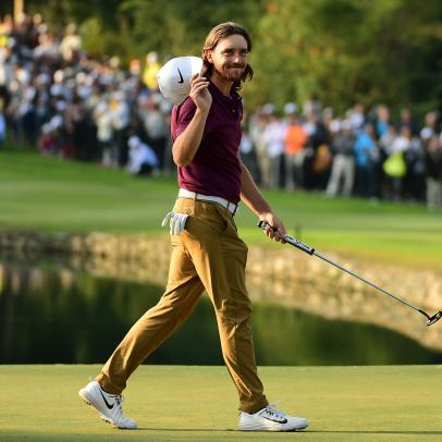 Tommy Fleetwood's travels have taken him to the top