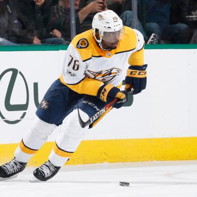 PK Subban scores ridiculous center-ice screamer, locks up goal of the year in December