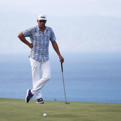 Rickie Fowler will unveil Puma Golf's Aloha collection in Maui