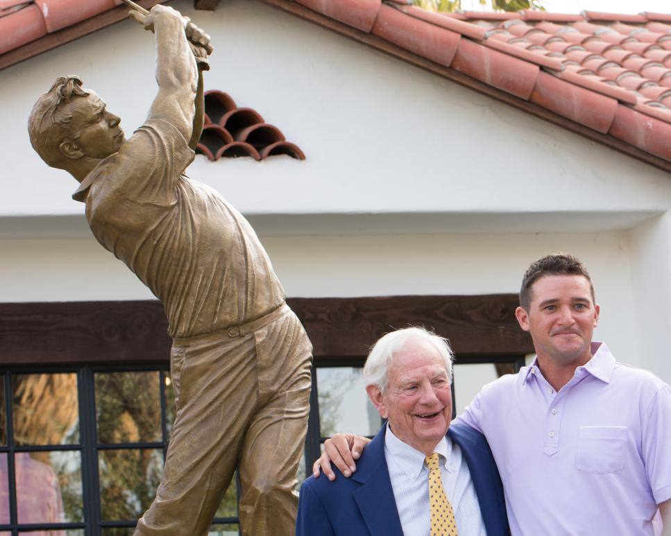 Arnold Palmer statue Tradition GC Sam Saunders.jpg