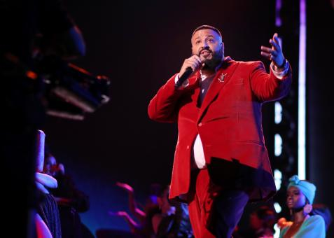 Breaking down DJ Khaled's master class in hype at the Grammys 2018