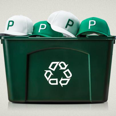 Rickie Fowler will wear a recyclable cap at the Waste Management