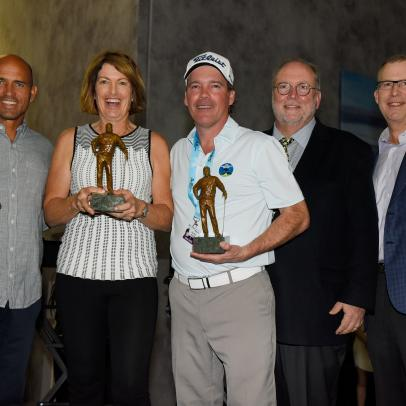 Kelly Slater, Clay Walker and Juli Inkster honored by Golf Digest for charitable work