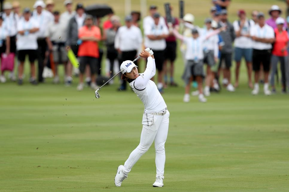 jin young ko GOLF-AUS-WOMEN