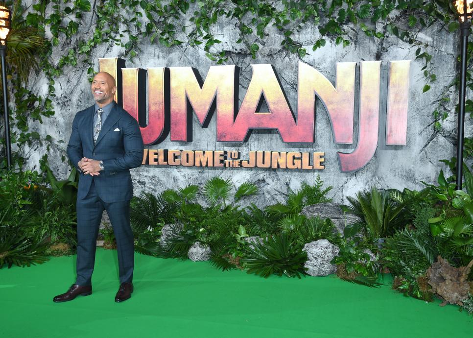 'Jumanji: Welcome To The Jungle UK Premiere - Red Carpet Arrivals