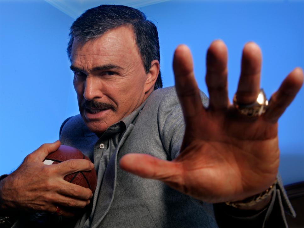 (Los Angeles)?Veteran actor Burt Reynolds talks about his role in the remake of the 1974 film, Long
