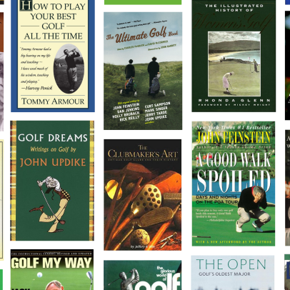 The 50 Golf Books Every Golfer Should Read