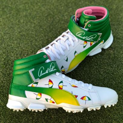 Rickie Fowler will honor Arnold Palmer with a pair of limited-edition kicks