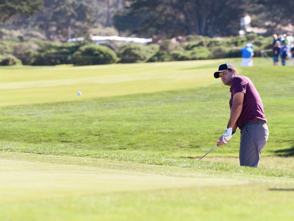 Celebrities Participate In The AT&T Pebble Beach Pro-Am
