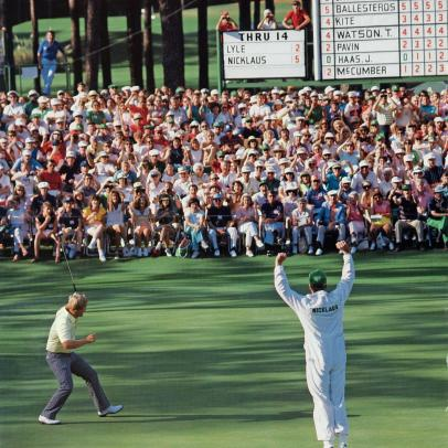 The 1986 Masters: A Father-Son Moment