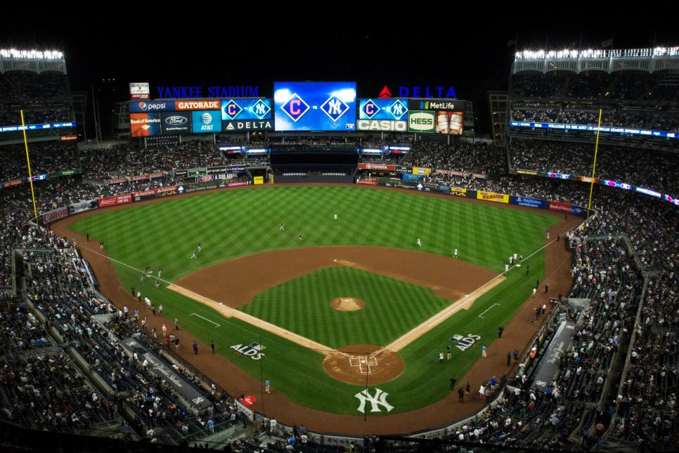 American League Division Series Game Three: Cleveland Indians v. New York Yankees