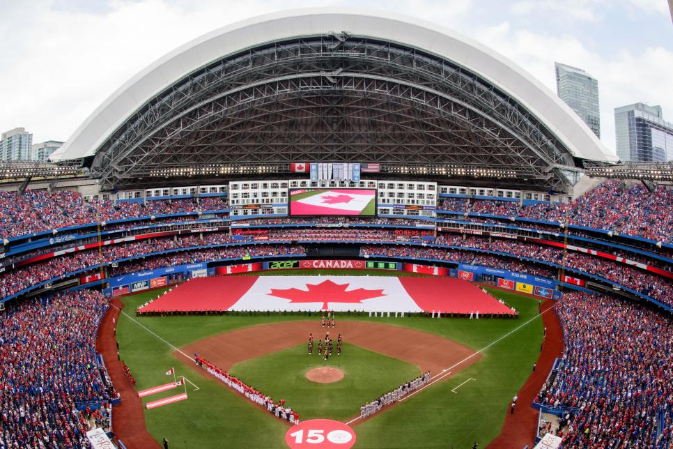 MLB: JUL 01 Red Sox at Blue Jays