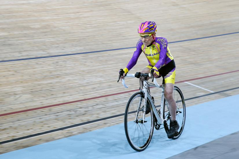 French Cyclist Robert Marchand, Aged 105 Rides His Bike In Order To Set A New In The Masters Category