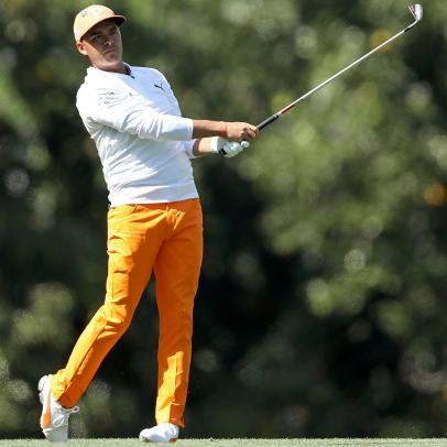 Masters 2018: Rickie Fowler was the best-dressed guy at Augusta