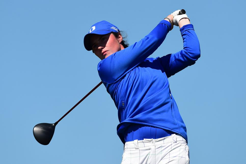 leona maguire Ladies British Open Amateur Championship - Day 3