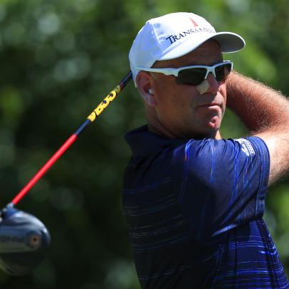 Stewart Cink back after brush with skin cancer in the wake of wife's breast cancer