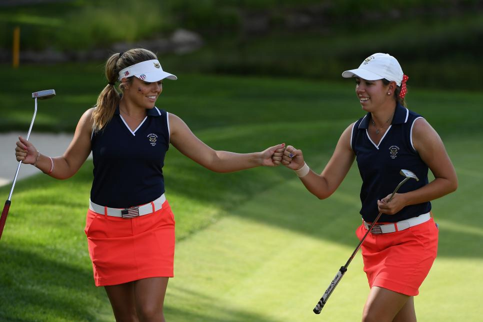 2018 Curtis Cup - Day Two