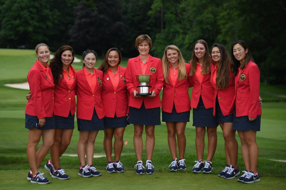 2018 Curtis Cup - Day Three