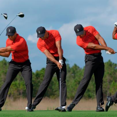 Swing Sequence: Tiger Woods