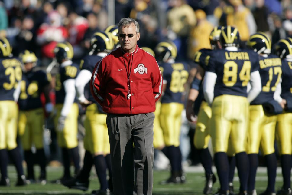 NCAA Football - Ohio State vs Michigan - November 19, 2005