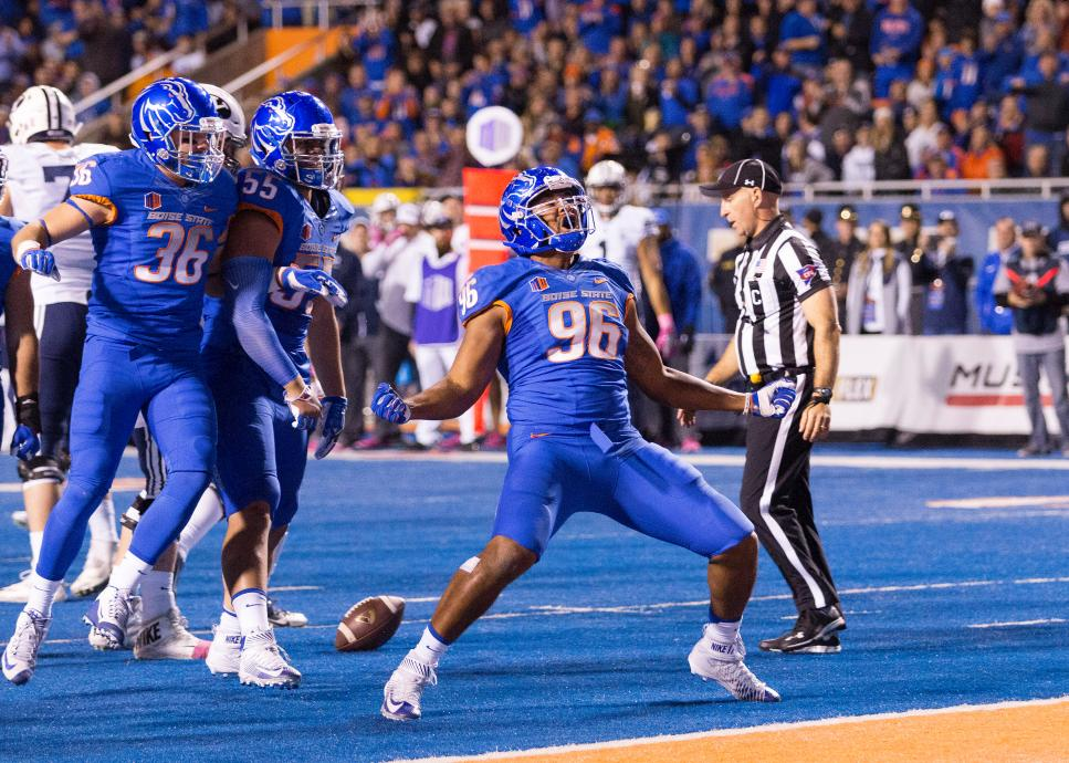 NCAA FOOTBALL: OCT 20 BYU at Boise State