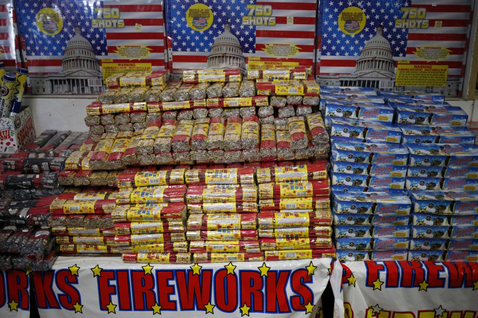Fireworks For Sale Ahead Of The July 4th Holiday